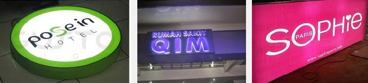 Gambar Jasa Neon Box Acrylic Murah Jakarta