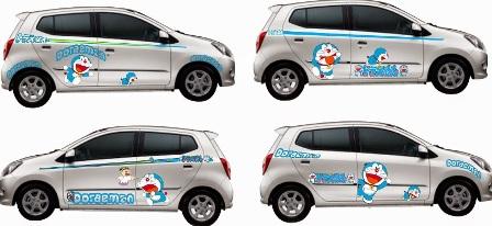 Gambar Cutting Stiker Mobil Full Body Sanblast