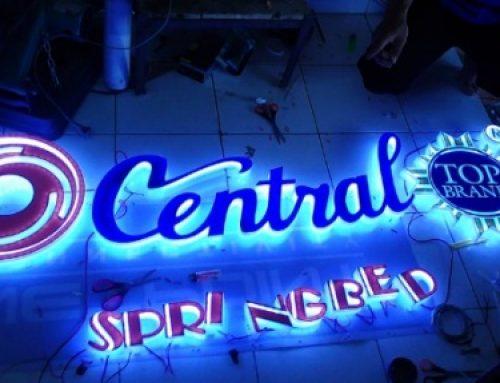 Jasa Pembuatan Huruf Timbul LED Jakarta