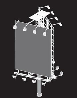 Gambar Material Konstruksi Billboard