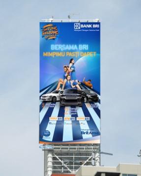 Gambar Macam Jenis Billboard di Jakarta